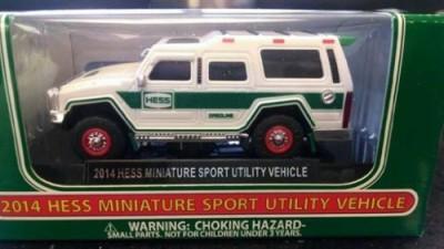 Hess 2014 Miniature Sport Utility