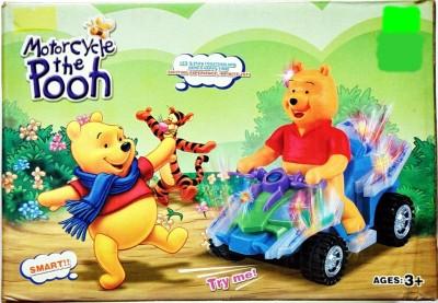 Ruppiee Shoppiee Motarcycle The Pooh