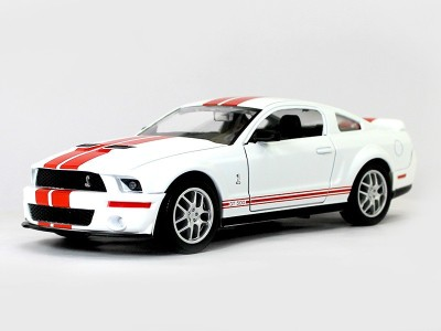 Road Signature 2007 Shelby Gt500 1:24 Yatming Diecast Scale Model Car