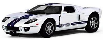 Kinsmart 2006 Ford GT White