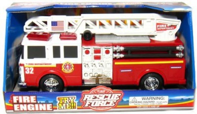 Fire Engine Fire Rescue Force Sounds & Light