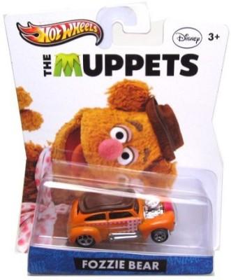 Mattel Hot Wheels Disney The Muppets Fozzie Bear