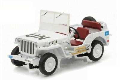 Greenlight Willys Jeep MB Diecast Model Car