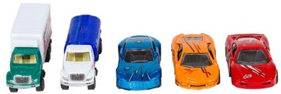 A2B Set of 5 Wonder Wheel Models Cars(multicolor)