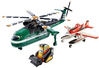 Mattel Disney Planes Fire & Rescue Windlifterdusty And Drip Gift