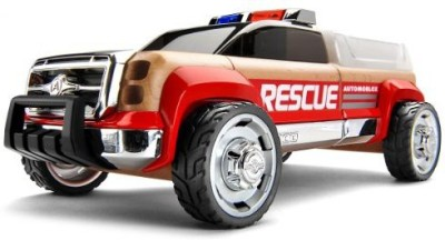 Automoblox T900 Rescue Truckred/Chrome