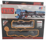 Turban Toys Battery Operated Train (Blac...