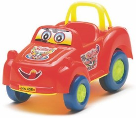 TECH AND TRADE BIRTHDAY GIFT TOY CAR PLASTIC WORKING MODEL(Red, Blue, Yellow)