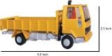 Centy Toys Ashok Leyland Cargo (Yellow)