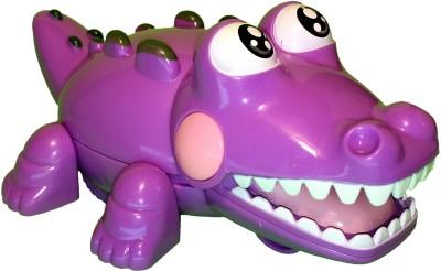 Mamaboo Wind-Up Crocodile Crocs - Purple