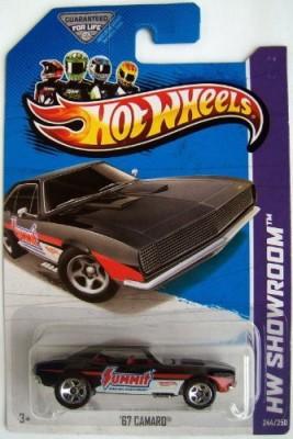 Hot Wheels 2013 Hw Showroom ,67 Camaro