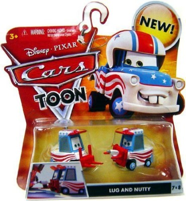 Disney Pixar Cars Toon Lug And Nutty 7 & 8