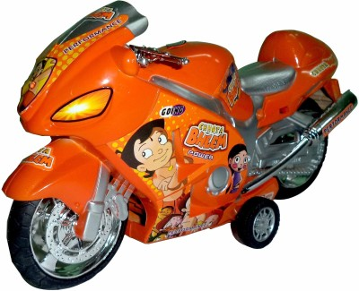 Lotus Chhota Bheem Bike With Sound and Light Toy Gift For Kids