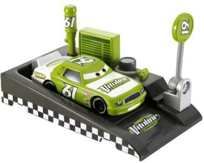 Mattel disney/pixar cars Race O Rama Pit Raceoff Vitoline No 61