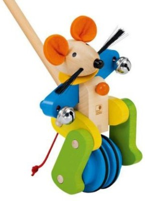 Selecta Spedino Wooden Push Toy