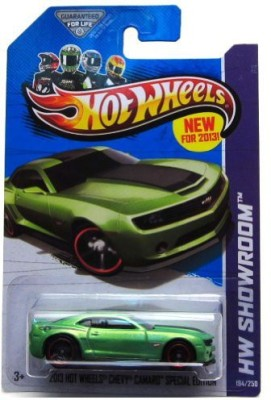 Hot Wheels HW Showroom 2013 Hot Wheels Chevy Camaro