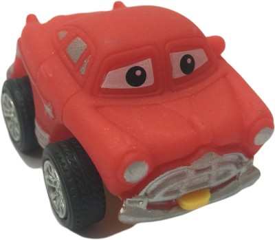 Bento Safety Rubber Mini Pull Back Go Action Cars
