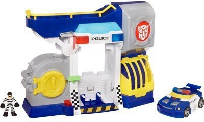 Transformers Bots and Robbers Police Headquarters