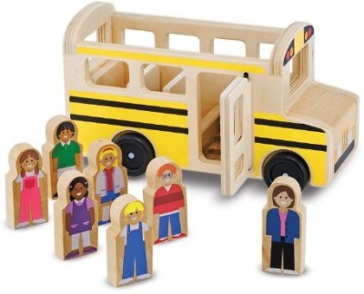 Melissa & Doug School Bus Play Set