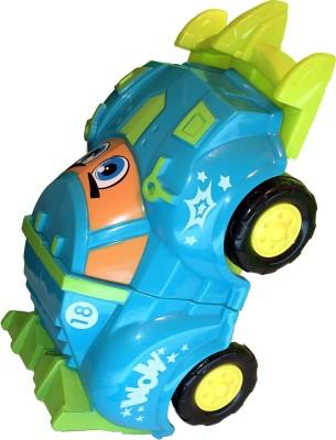 Mamaboo Pull n Race Crash Cars - Blue
