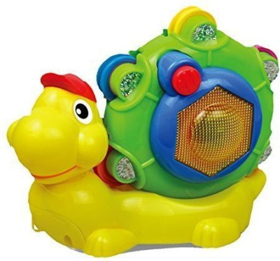 Digo Baby Learning Electronics Pull Along Snail(Multicolor)