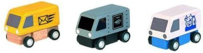 PlanToys Plandelivery Vans (1 Set 3 Pcs)