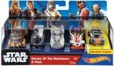 Hot Wheels HEROES OF RWSISTANCE 5 PACK
