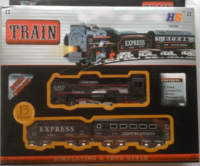 AS Battery Operated Train Set With Head Light