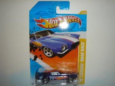Hot Wheels 2011 ,70 Camaro Road Race Dark Blue 47/244