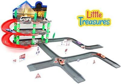 Little Treasures Deluxe Parking Maze Party Parking Lot