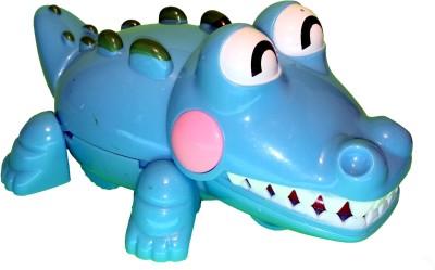 Mamaboo Wind-Up Crocodile Crocs - Blue