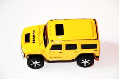 Ruppiee Shoppiee Hummer Yellow Car