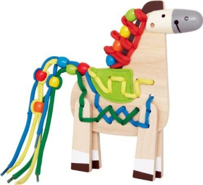 Hape Lacing Pony