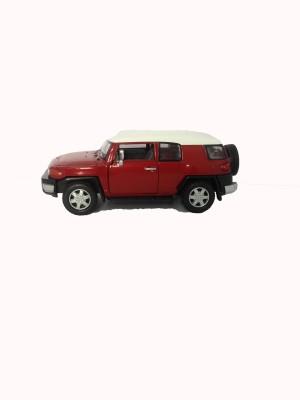 Kinsmart 5,, Toyota Fj Cruiser Dark Red