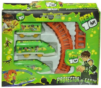 Shop & Shoppee Ben 10 Train Battery Operated