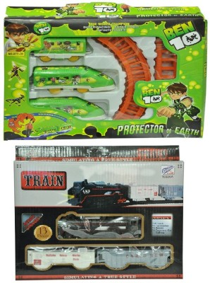 Shop & Shoppee Combo of Battery Operated Train