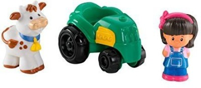 Fisher-Price Little People Wheelies Mia And Tractor