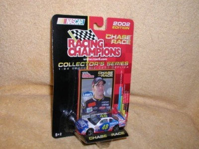 Racing Champions Jimmie Johnson 02 Rookie 48 Lowes/Power Of Pride Monte