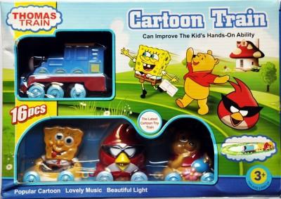 Ruppiee Shoppiee Cartoon Train