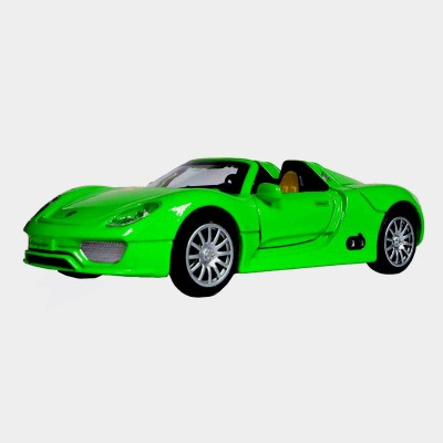 Adraxx 1:28 Scale Die Cast Convertible Sports Car Toy Collector Model