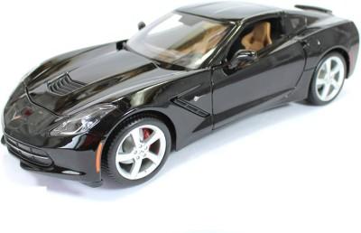 Maisto 2014 Corvette Stingray Black 1:18 by Maisto Diecast Scale Model Car