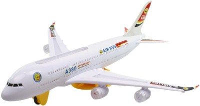 Turban Toys Battery Operated Airbus Plane
