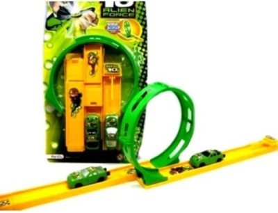 New Pinch Ben 10 Track Racer Car Set