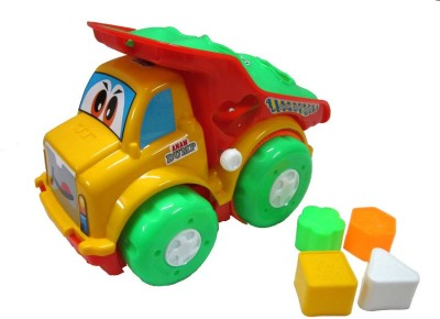 V.T. Friction Powered Truck with Shape Sorter