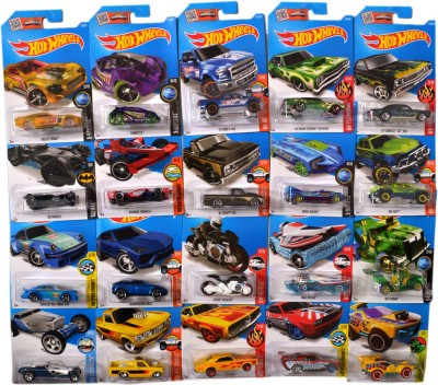 Hot Wheels Set Of 20 Futuristic Models