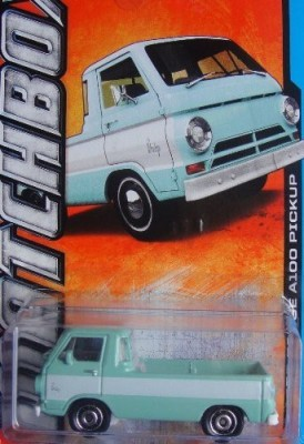 Mattel 2013 Matchbox 1966 Dodge A100 Pickup