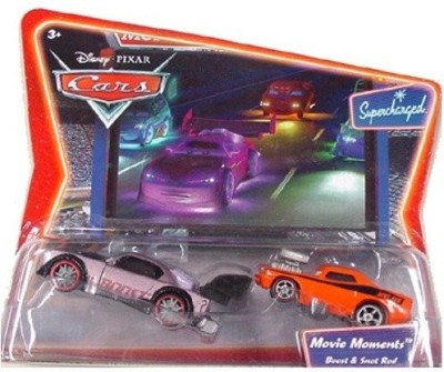 Mattel Cars Movie Moments Boost & Snot Rod