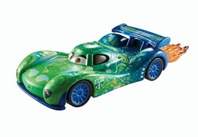 Mattel Disney World Of Carsallinol Blowout Diecast Carla Veloso