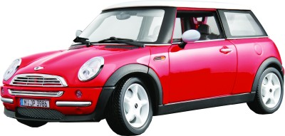 Bburago Mini Cooper - Red