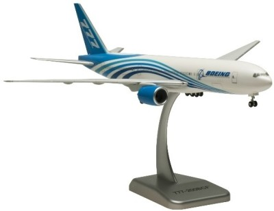 Hogan Wings Aircraft scale model, Boeing 777-200BCF, Scale 1:200 (with Stand & gear)